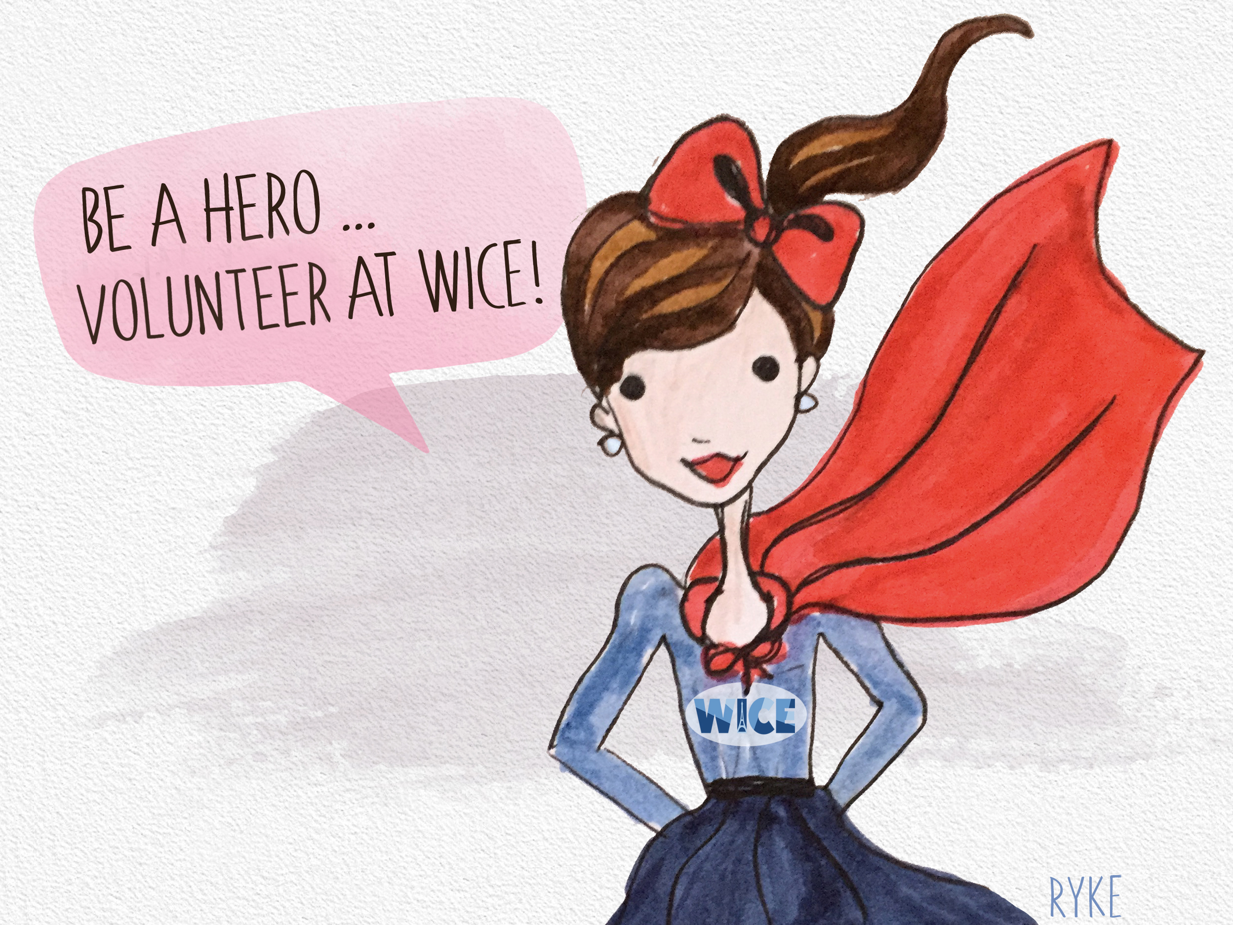 Volunteer at WICE